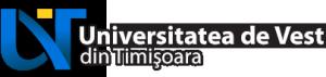 Universitatea de Vest din Timişoara Logo